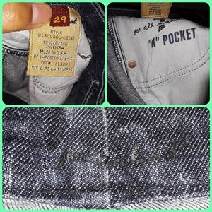 7 For All Mankind Jeans - 7 For All Mankind 'A' pocket bootcut jeans